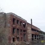 Корпус заброшенной фабрики